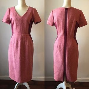BODEN // Long Tweed by Moon Pink Olivia Dress